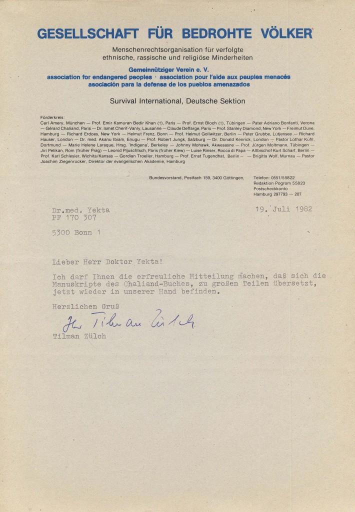 19-07-1982 - Tilman Zülch (GbV) und Dr