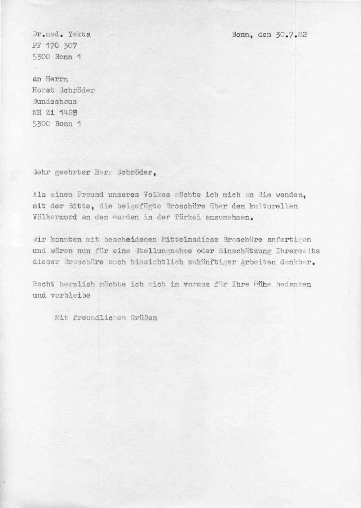 30-07-1982 - Horst Schröder und Dr Yekta